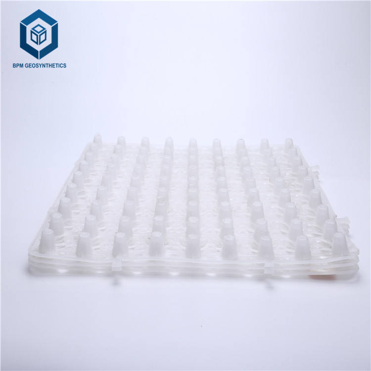 Drainage Boards Hdpe Plastic Drainage Board Dimpled Plastic Drain Sheet