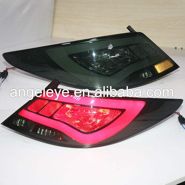 Accent Verna For Hyundai LED Tail Lamp YZ 2011-13 Type Smoke Black