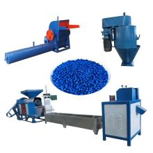 Full-automatic waste plastic recycling machine or small plastic granulator