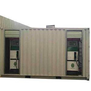 ISO 10000L-20000L 20 Feet mobile gas station/ Portable fuel station for sale
