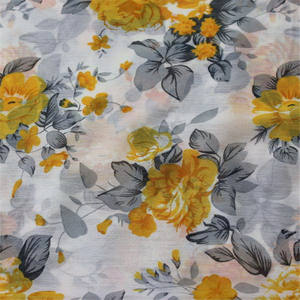 Wholesale crepe de chine fabric digital printed polyester chiffon fabric