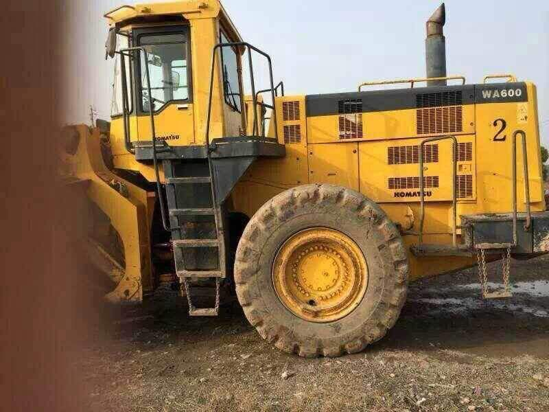 Used original Komatsu wa600-3 wheel loader for sale/Komatsu WA600 wheel loader,japan used komatsu wheel loader wa500-3 /wa600-3