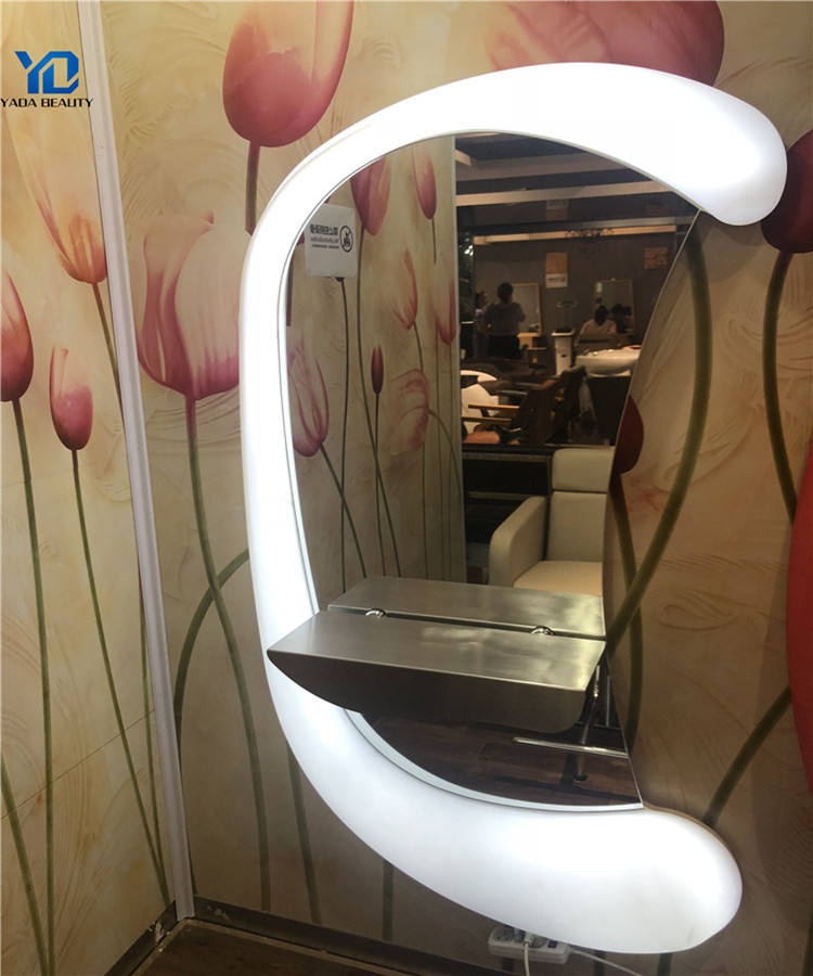 2019 New design salon mirror station with manufacturer price