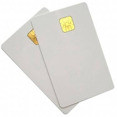 CNC wholesale Credit Card Size Blank chip card with magnetic stripe