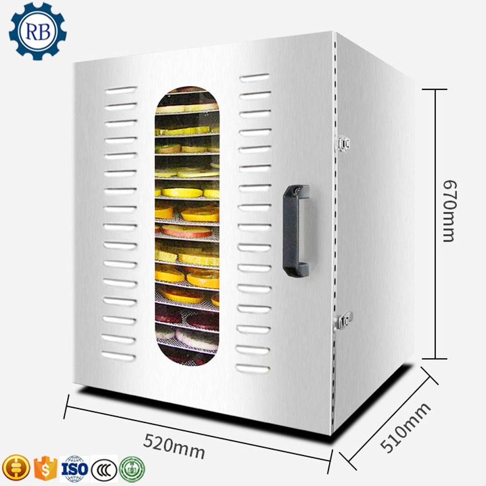 Professional 2019 home use Small Vegetable Fruit Food Vacuum Dryer/Hot air drying machine