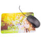 Wholesale customized print microfiber and rubber mouse pad