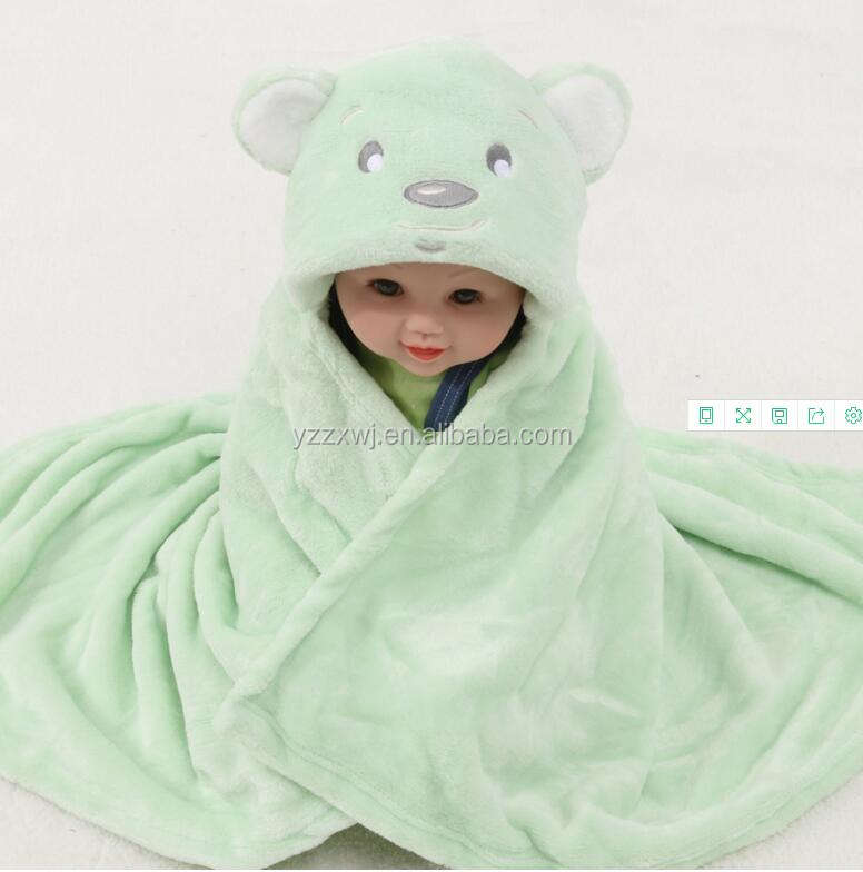 free sample stuffed animal shaped flannle fleece bear baby securit baby soft toy blankets
