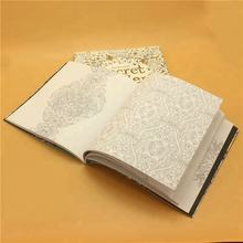 Gold Stamping Cover Custom Quality Perforated Pages Coloring Book Print Service