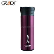 Concise gourd shaped stainless water bottle insulated vacuum flask
