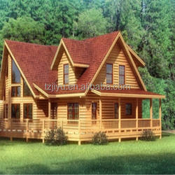 garden house wood villa house wooden cabin russian prefabricated house wooden