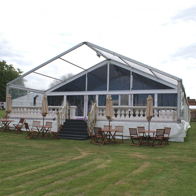 GSL-15 15x20m A frame luxury glass marquee party tent