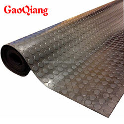 Hot sale 3mm -6mm round stud rubber flooring rolls
