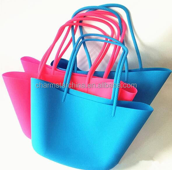 Hot New Alibaba Wholesale Silicone Beach bag Tote Handbag Shoulder Bag