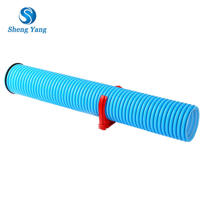 SY HVAC System Used Certified Double Wall Corrugated HDPE Air Vent Pipe