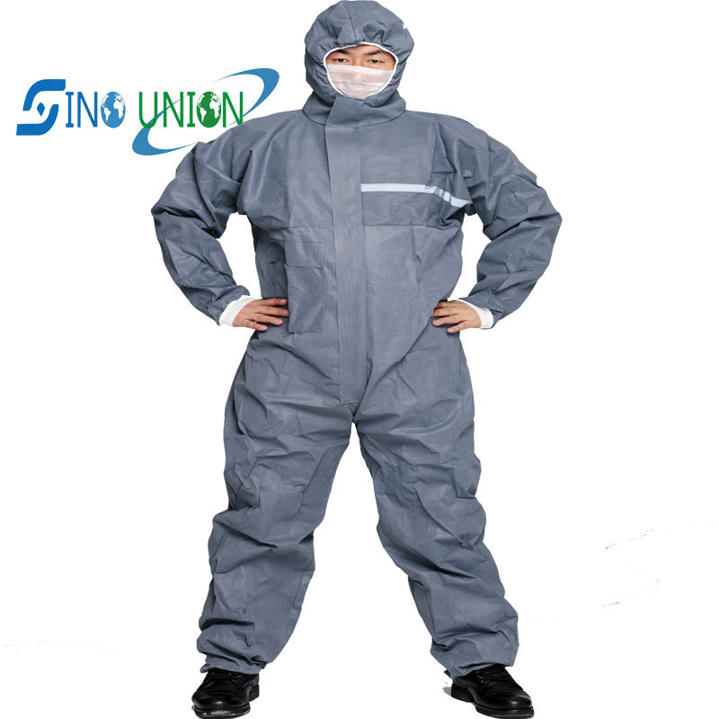 lint free work wear waterproof asbestos type 5 overalls