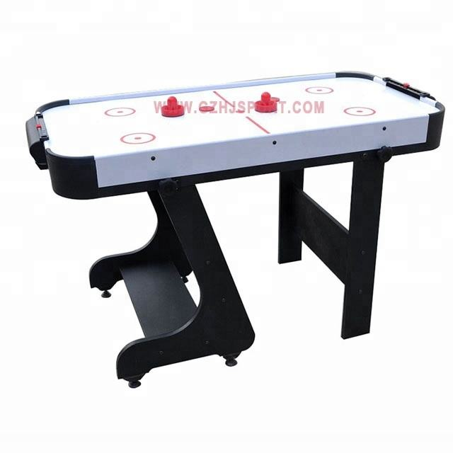 5Ft White Surface and Cheap Folding Wooden Air Hockey Table