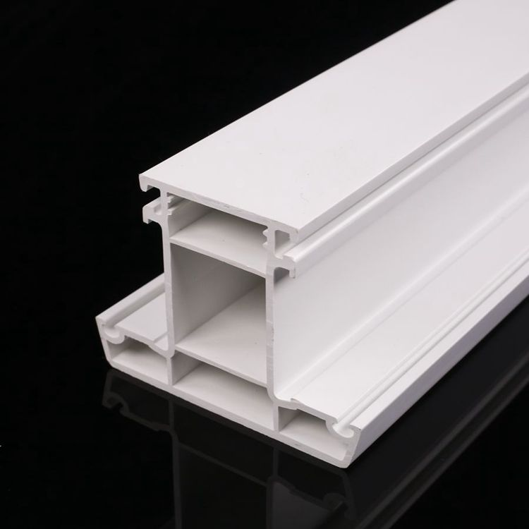 ASA color coating UPVC window profile/Lanke PVC profile manufacturer/White UPVC profile frame for windows and doors
