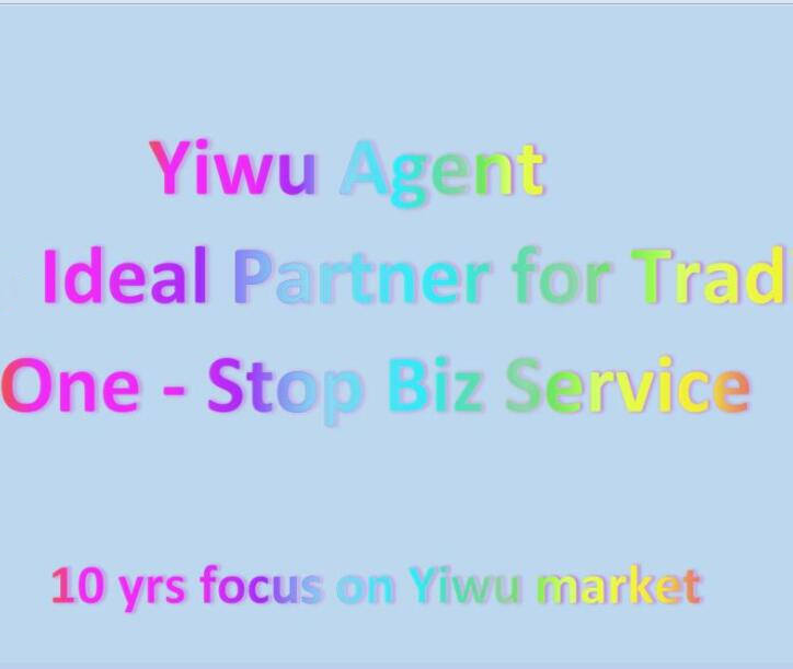 International Trading Middel Yiwu One Stop Sourcing Export Agent China Inkoopagent Dienst