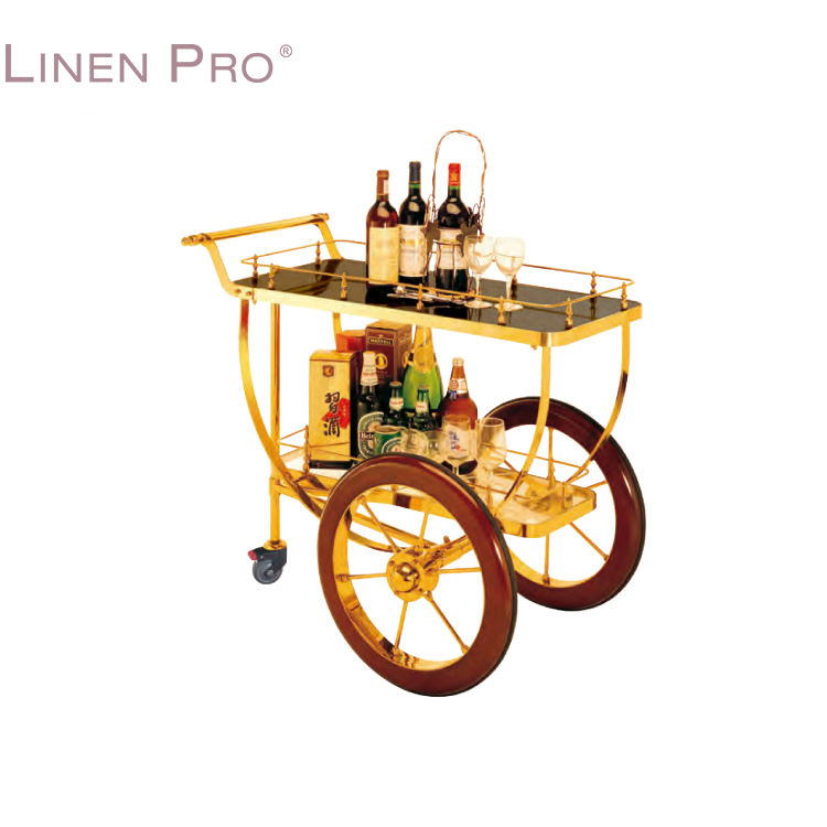 Wholesale Classic Style Hotel Wine Trolley Liquor Cart