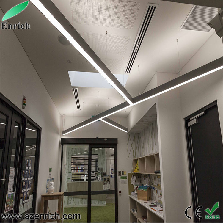 LED Linear Light Lamp Pendant light led shop Lighting fixture