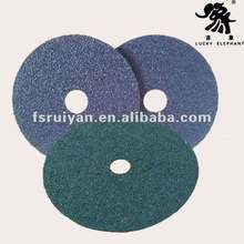 vulcanized paper fibre sanding disc for stainless steel , wood furniture and metal etc,