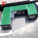 3 Story 3 Bedroom Modular Luxury Prefabricated Flatpack Pre-Made Floating Container House