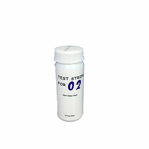 60611 Swimming pool O2 test strips