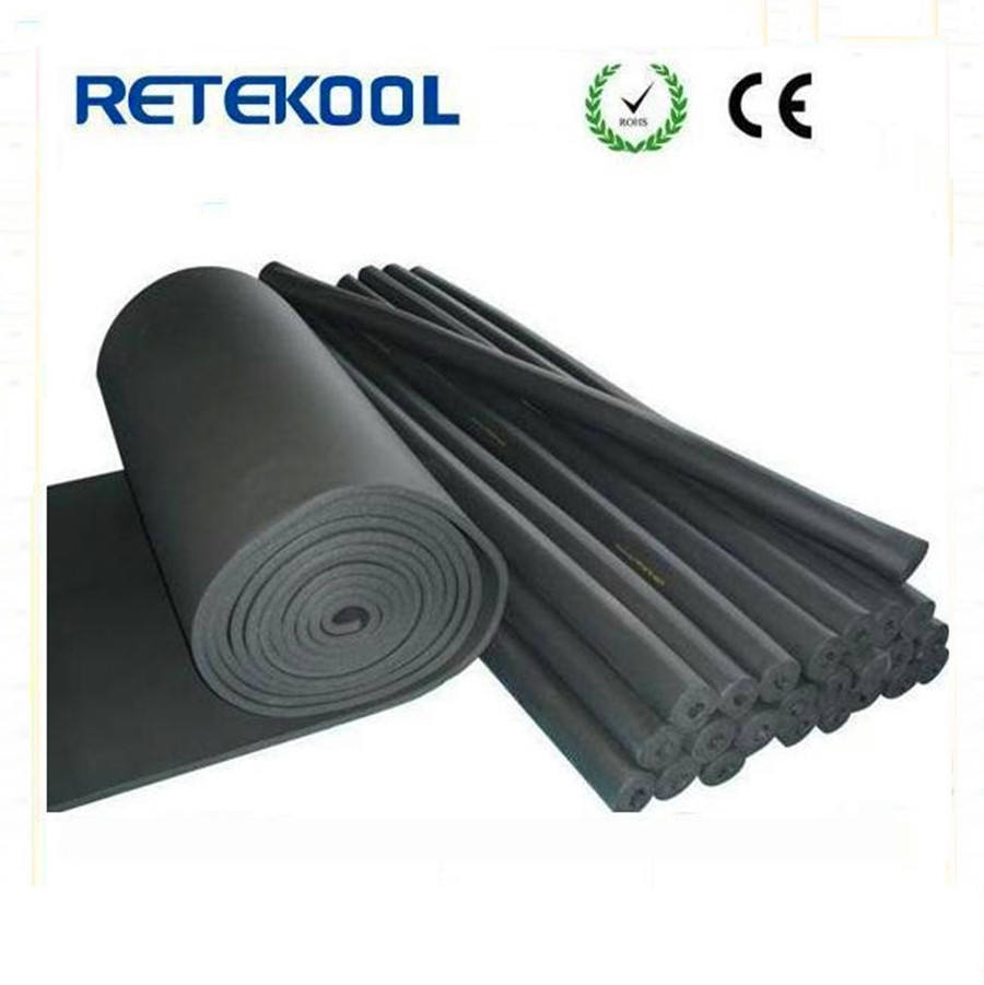 Closed cell polyethylene foam or rubber Tubular Foam and Rubber Pipe Insulation