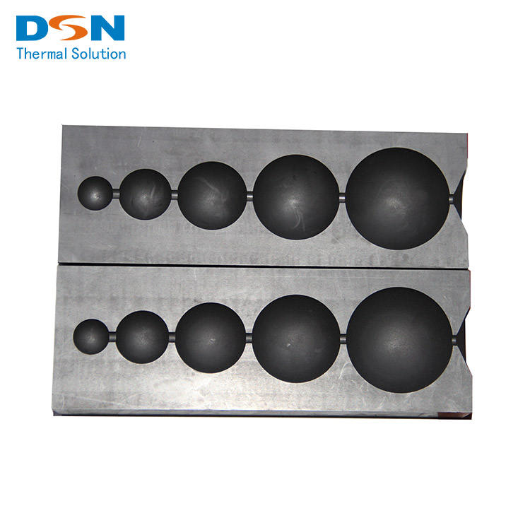 DSN Customize Production Anti-oxidation High-purity Graphite Molds