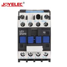 CJX2 1210 LC1D1210 12A AC Contactor Motor Magnetic Contactor 3 Phase 3P+NO Contacts Relay 380V 220V 110V 36V 24V Coil