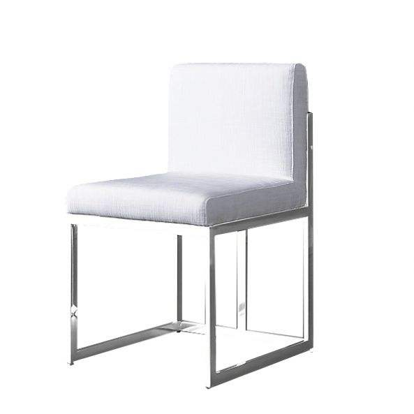 Royal modern dining furniture stainless steel dining chair made in China