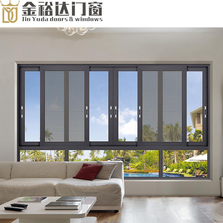 Made in China sliding window aluminum alloy doors and Windows broken bridge aluminum doors and Windows superior brand 10 year wa