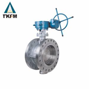 Concentric flanged stainless steel nbr seat 2 butterfly valve
