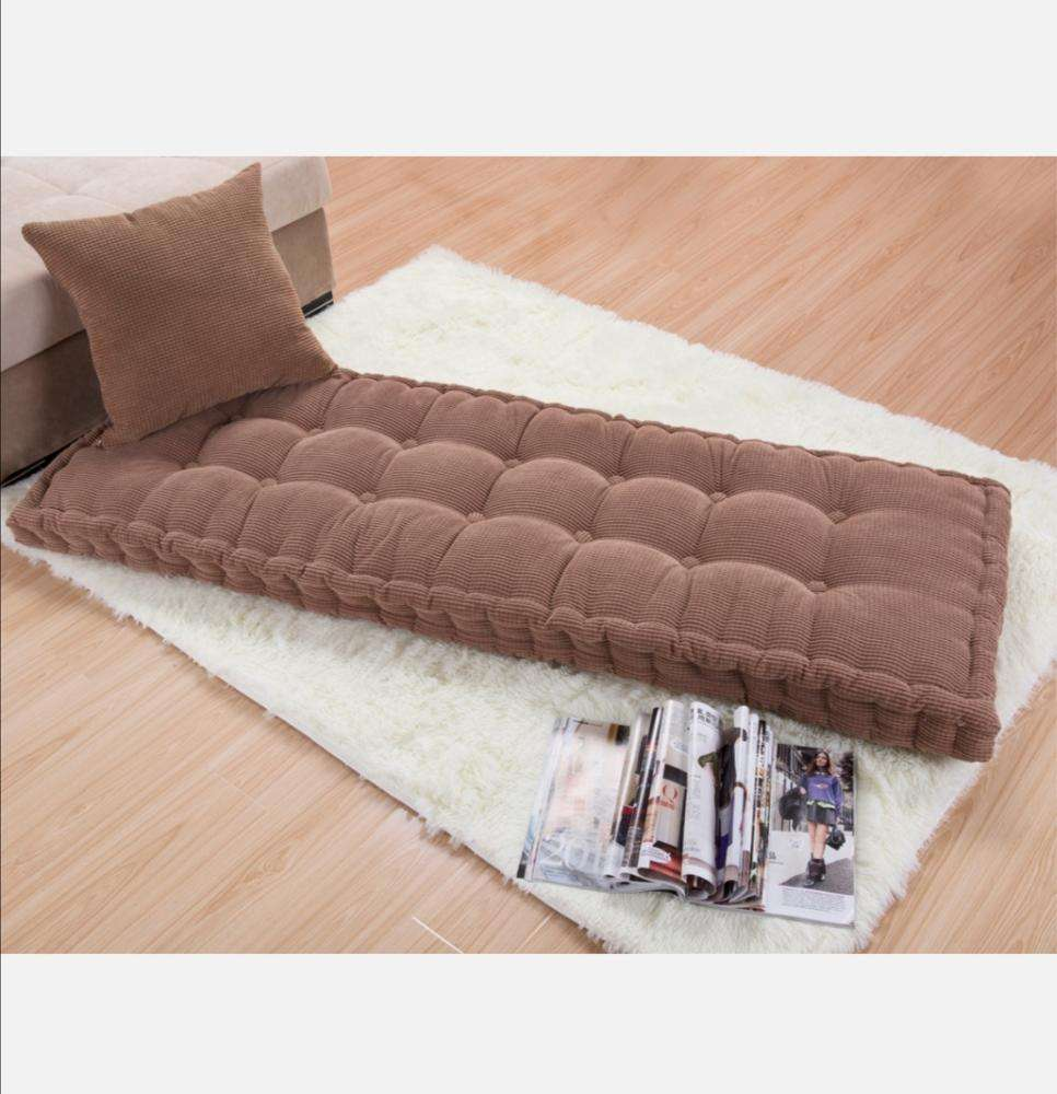New solid color thickening soft massage comfortable bay window cushion