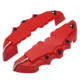 2pcs Universal Front & Rear 3D Look ABS Disc Brake Caliper Cover kit 240mm 280mm
