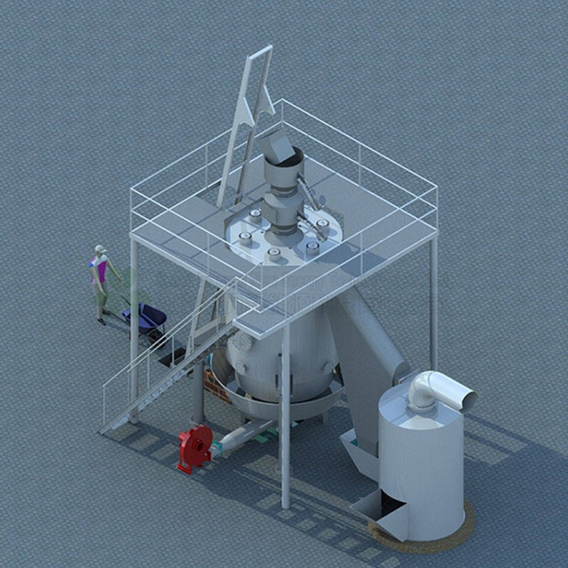 new design coal gasifier installation for mineral drying