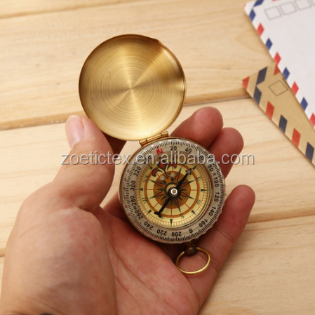 Wholesale outdoor travel metal mini compass