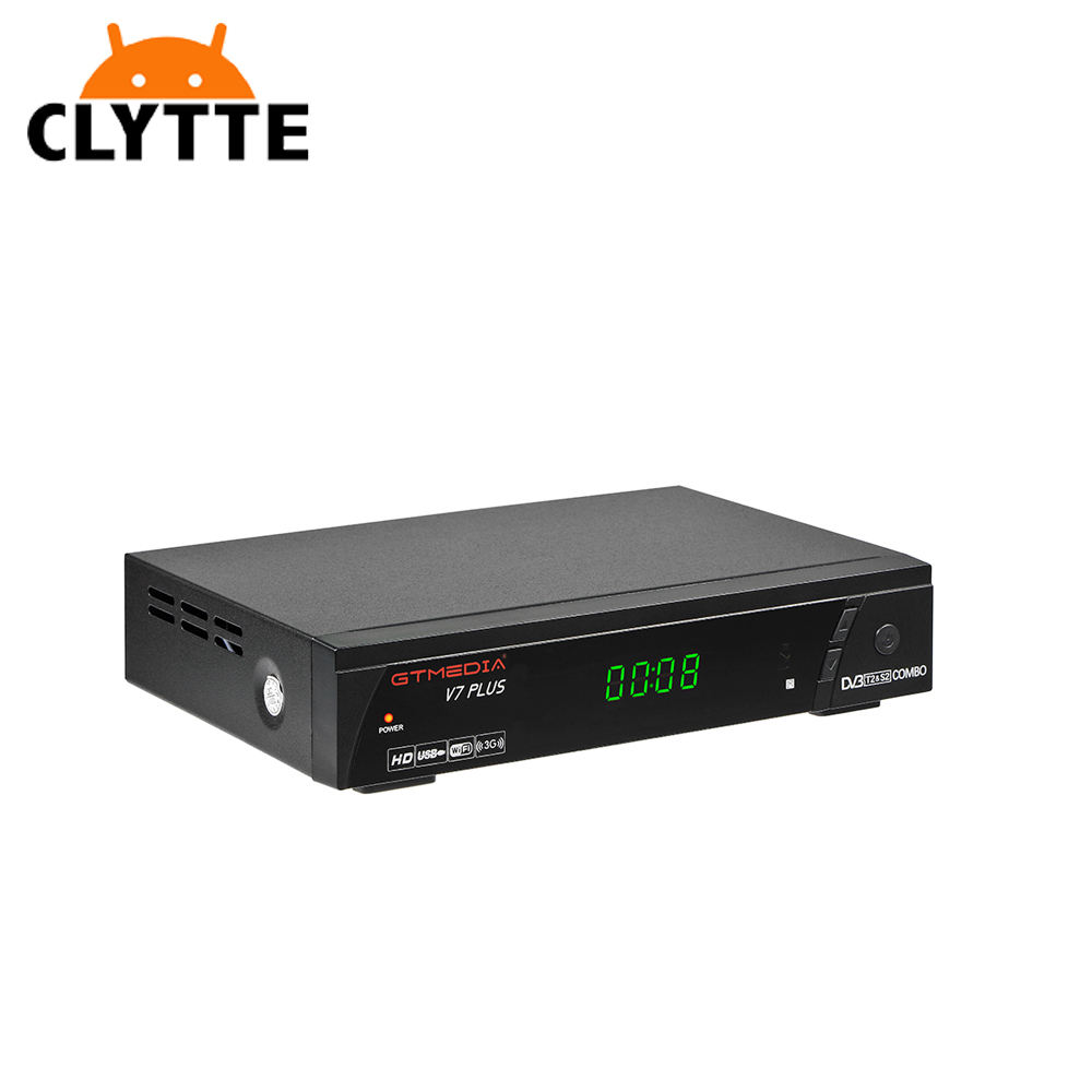 CLYTTE FREESAT V7 Plus 수용체 HD DVB-S2 위성 TV RECEIVER SUPPORT POWERVU BISS 키 CCCAMD DVB S2 위성 tv receiver