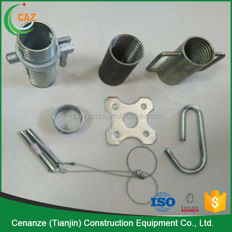 scaffolding prop accessory nut and sleeve