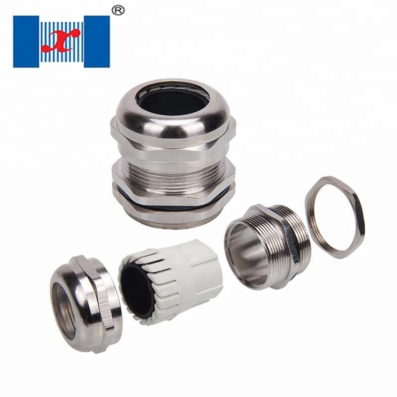 M16*1.5 Through Type Brass Cable Gland
