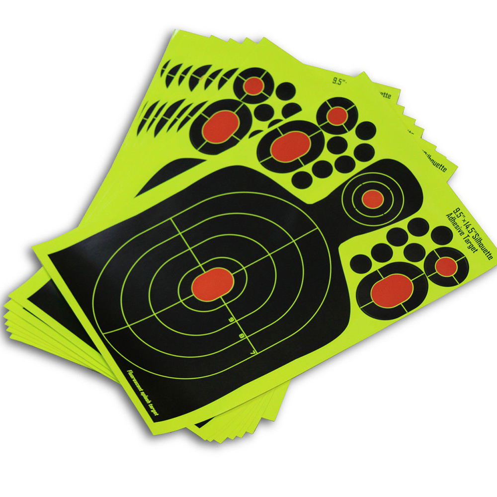 Self Adhesive Paper Splatter Targets Hunting Shooting Training
