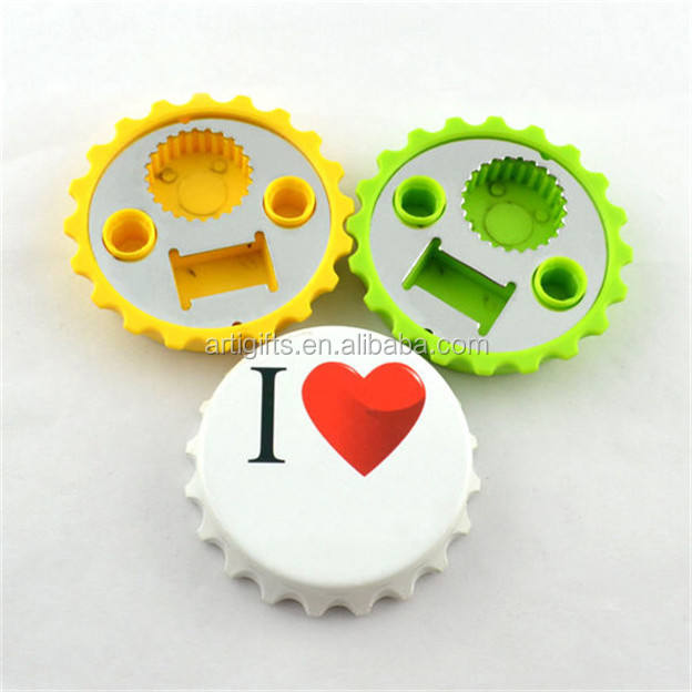 promotional gifts cap shape plastic bottle opener