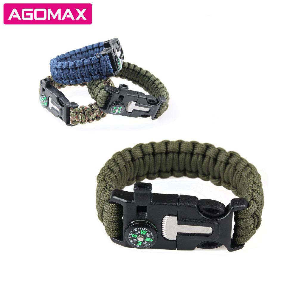 Emergency Fire Starter Kit Tactical Rope Cord Ultimate Bracelets
