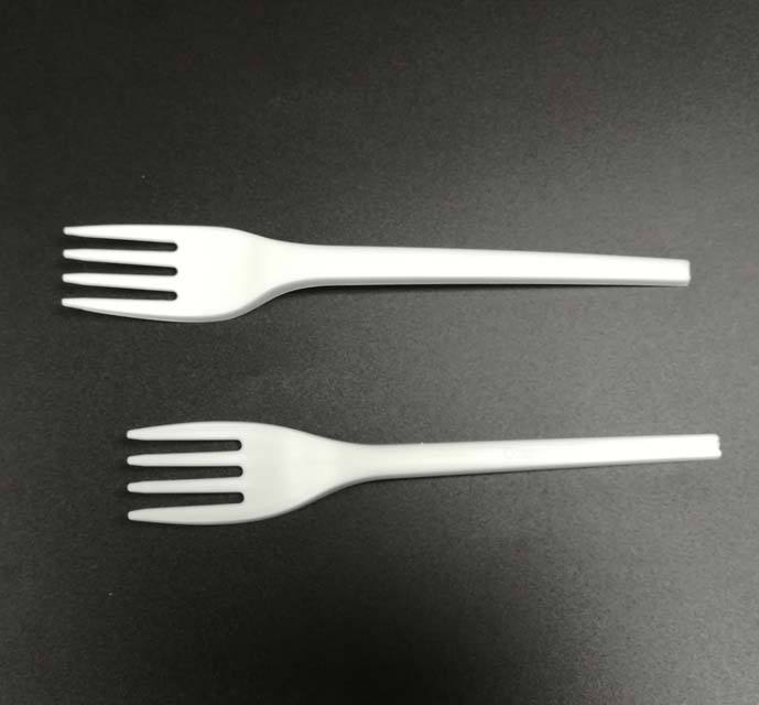 Plant starch Heavy duty biodegradable cutlery corn starch utensil