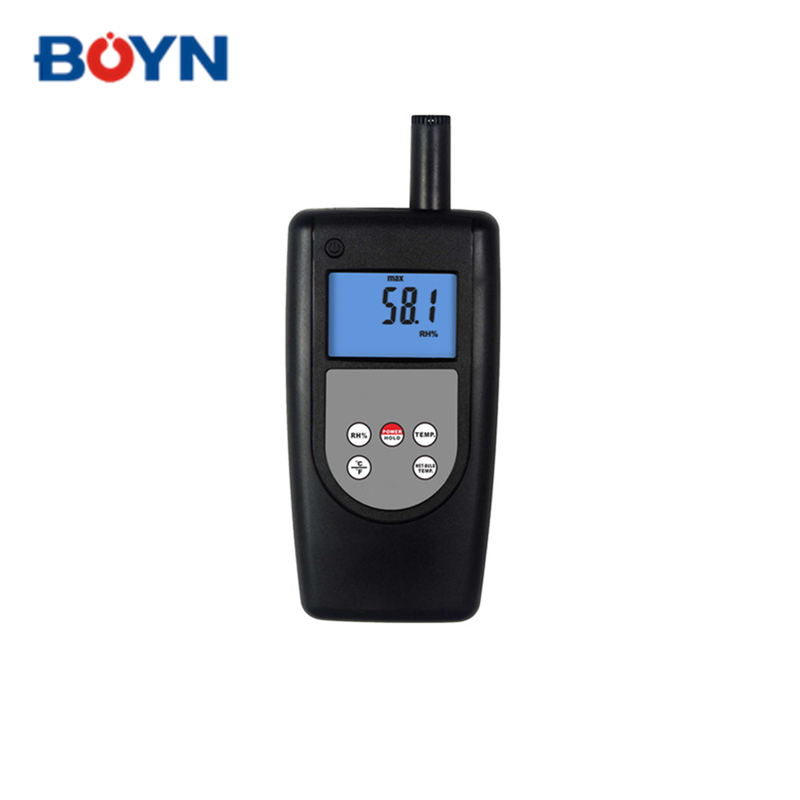 HT-1292 high accuracy digital temperature humidity meter with LCD Display