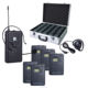 aa battery Wireless Tour Guide Audio System with LCD screen for assistive listening and tour groups