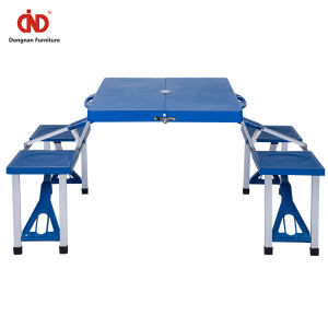 Wholesale Standard Size Food Stalls Restaurant Table Furniture Plastic Canteen Tables And Chairs