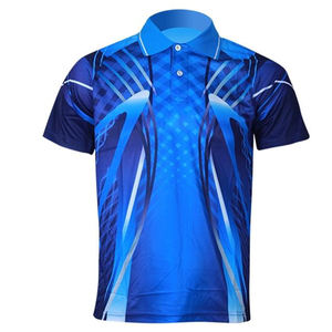 100% polyester custom 3D all over sublimation printing dryfit polo shirt