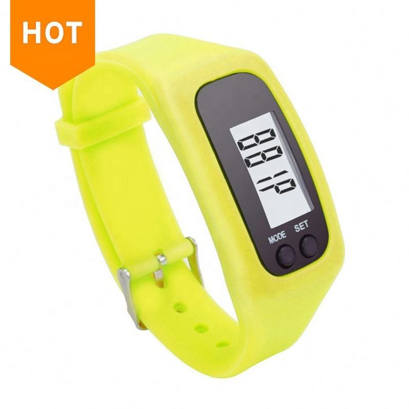 OEM logo printed new design very very competitive price sport bracelets pedometer
