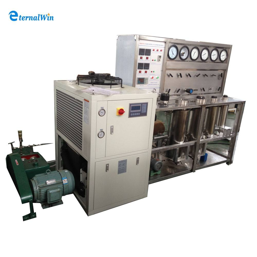 co2 supercritical extraction machine tobacco extract nicotine machine / unit / equipment/ plant